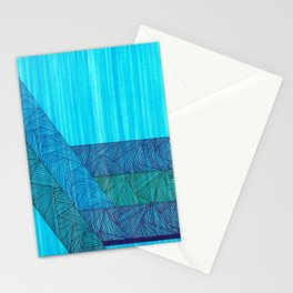 Sky Blue Stationery Cards