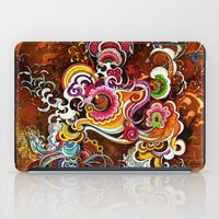 peacock iPad Cases featuring Peacock by Nick La