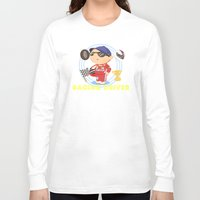 racing Long Sleeve T-shirts featuring Racing Driver by Alapapaju