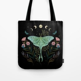 Luna and Forester Tote Bag