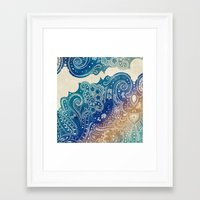 princess Framed Art Prints featuring Mermaid Princess  by rskinner1122