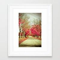 wanderlust Framed Art Prints featuring Wanderlust by Olivia Joy StClaire
