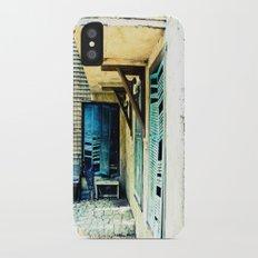 Rustic iPhone X Slim Case