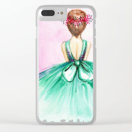 Ballerina Clear iPhone Case