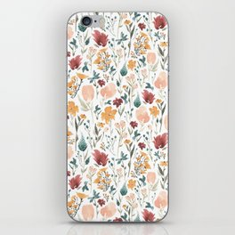 Deep Florals iPhone Skin