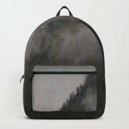 Revelstoke Forest Mists Photo Art Backpack