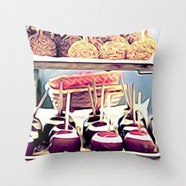 Dolce & Manzana Throw Pillow