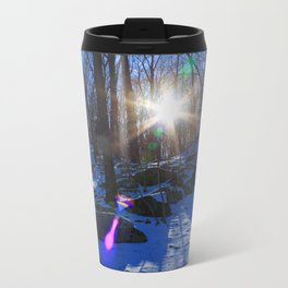Winter Forest Metal Travel Mug