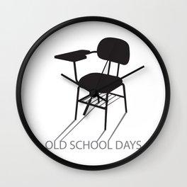 Old School days Wall Clock