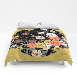 Falling Daisies Comforters