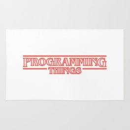 Programming Things Rug