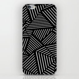 Ab Linear Zoom Black iPhone Skin