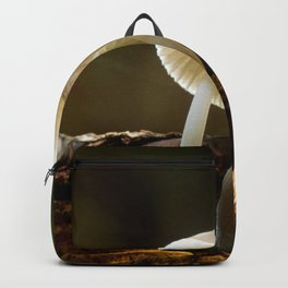 white toadstool Backpack