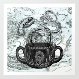 Cup of Creation Art Print