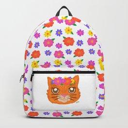 Frida Cat Backpack