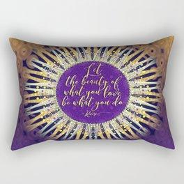 Inspire Artistry • Do What You Love Rectangular Pillow