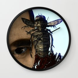 Fly: Catch me Wall Clock