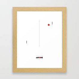 JAPONG Framed Art Print