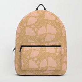 Golden papillon Backpack