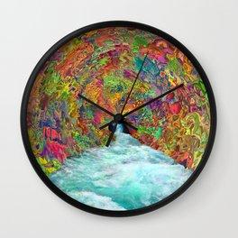 Back To Earth Wall Clock