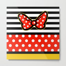 Minnie Themed Metal Print