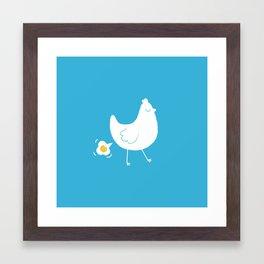i killed my inner child Framed Art Print