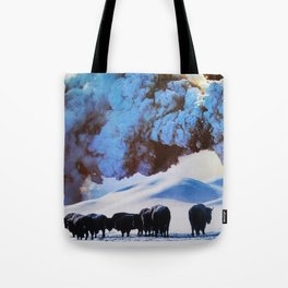 Buffalo Blast Tote Bag