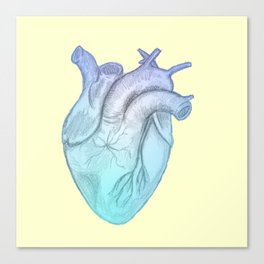 Cold Hearted Canvas Print