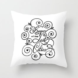 Keeper of the Lost Cities Throw Pillow
