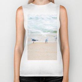 Beach Birds Biker Tank