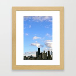 Chicago Sky Framed Art Print