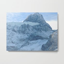 Los Andes - Snow in mountains Metal Print