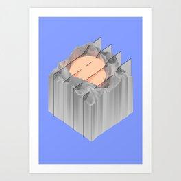 Data D͏raf̸t Art Print