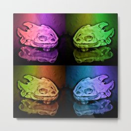 Turtle's rainbow Metal Print