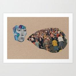 synchronicity (part 1)  Art Print