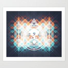 ?3 Art Print