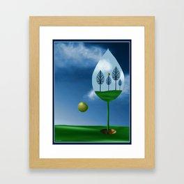 Magritte Mulligan Framed Art Print
