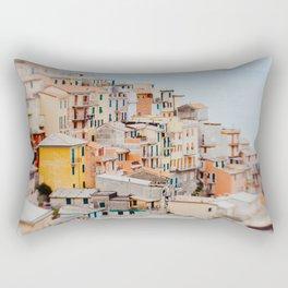 Manarola, Cinque Terre III Rectangular Pillow