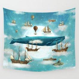 Ocean Meets Sky - revised Wall Tapestry