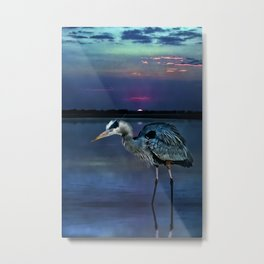 Estero Blues Metal Print