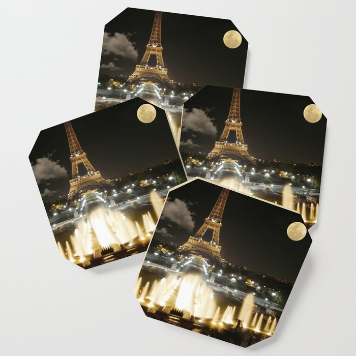 Eiffel Tower at Night Coaster