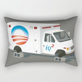 Obamacare is Now Beyond Rescue Rectangular Pillow