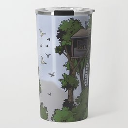 TreeHouse in the Sky Travel Mug