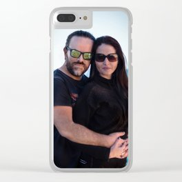 Pablo + Vero Clear iPhone Case