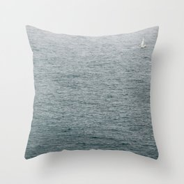 Lost Sailor Throw Pillow