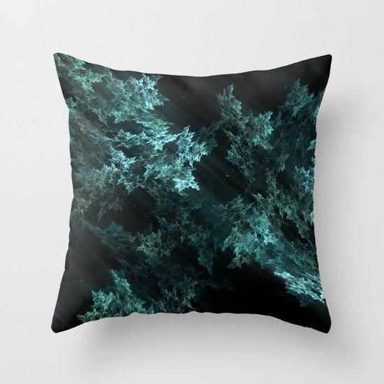 Light and Matter Throw Pillow