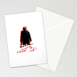 Jason Voorhees In shadow Stationery Cards
