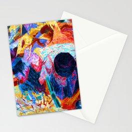 Umberto Boccioni Street Pavers Stationery Cards