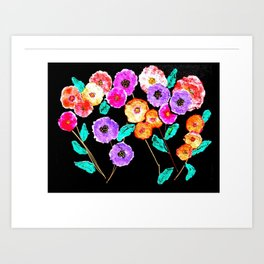 Bunches of Posies Art Print