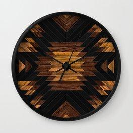 Urban Tribal Pattern No.7 - Aztec - Wood Wall Clock